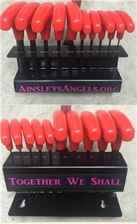 red Ainsley's Angels of America wrench
