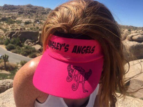 Ainsley's Angels of America visor hat